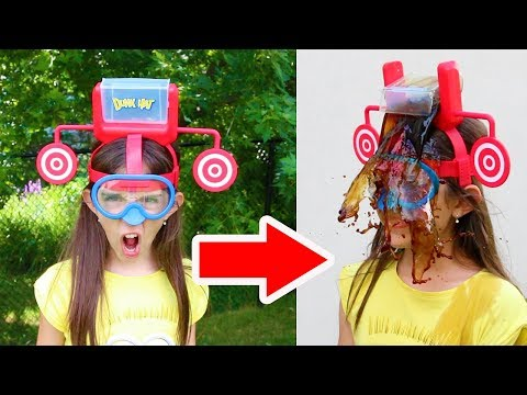 Thumbnail: DUNK HAT CHALLENGE!! - Warning: Extremely Messy & Gross!