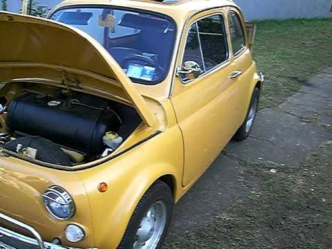 fiat 500 oldtimer bauj 1969 youtube. Black Bedroom Furniture Sets. Home Design Ideas