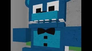 Corto Roblox - FnaF animatronic World - Veo a Freddy nx en el Baño! - BenBanck