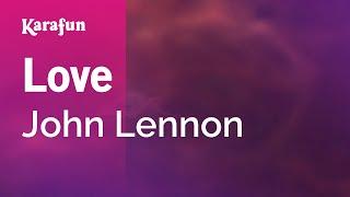Karaoke Love - John Lennon *