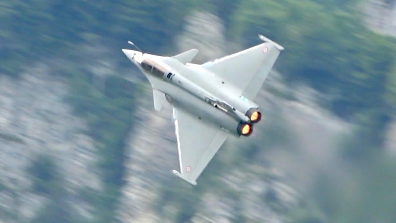 Dassault Rafale C French Air Force flying Display Zigermeet 2019 AirShow