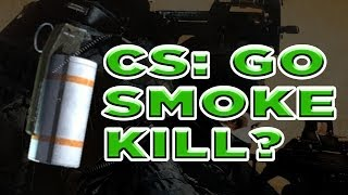 The CS: GO Smoke Grenade Frag