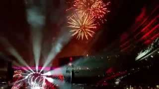 Fireworks on July 4th at Soldier Field. Fare Thee Well