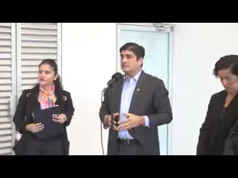Carlos Alvarado habla sobre acuerdo de la Caja