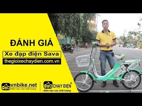 Đánh giá xe đạp điện Sava