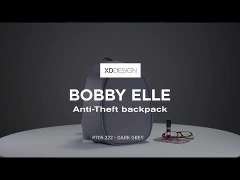 Bobby Elle Anti-theft rygsæk (Mærk grå) 360