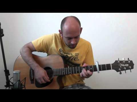 """The Godfather"" Theme (Movie - Slash) - Acoustic Guitar Solo Cover (Violão Fingerstyle)"