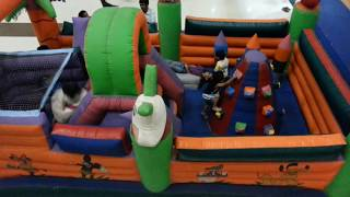 The Multi Inflatable Moon Walkers | Super Amusement Games