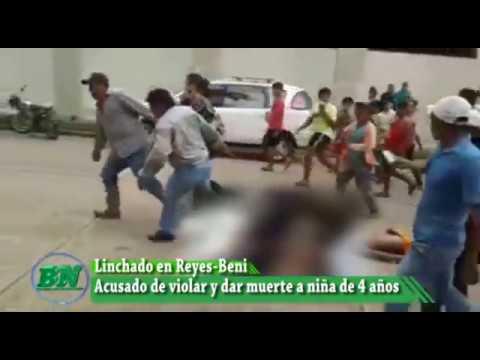 Niña de 4 años aparece violada y muerta, pobladores linchan a supuesto responsable, Reyes Beni