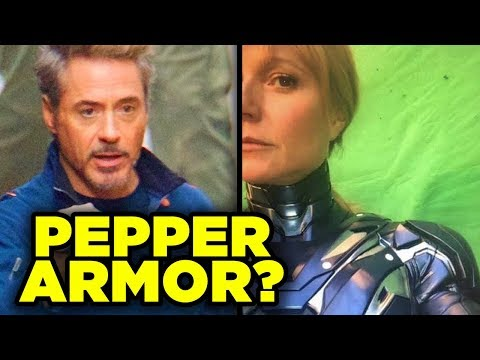 Avengers 4 - PEPPER POTTS ARMOR Revealed!