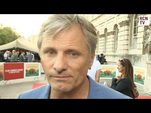 Viggo Mortensen Interview Captain Fantastic Premiere