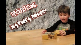 ROBLOX TOY REVIEW MYSTERY BOX OPENING UNBOXING NEW TOYS