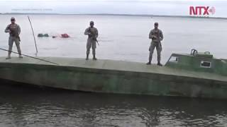 Descubren en Colombia submarino artesanal para transportar cocaína