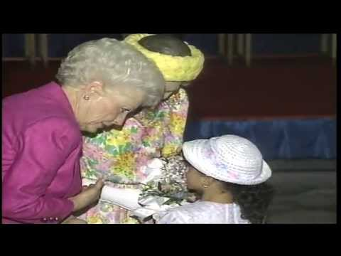 Queen Elizabeth Visits Part 2 | Austin, TX 1991