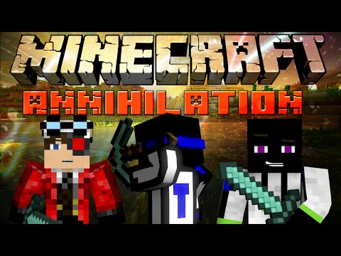 Minecraft: Annihilation - Игра с друзьями на Cristalix :3