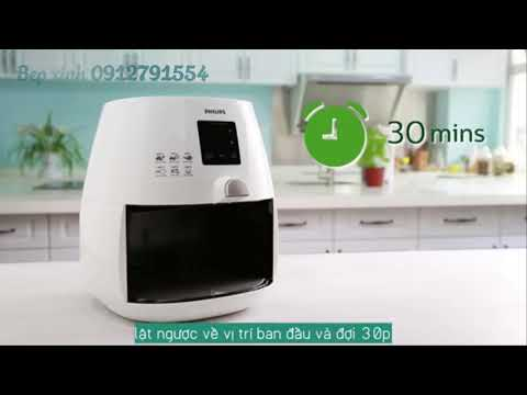 VIETSUB Cleaning Tutorial of Philips Airfryer