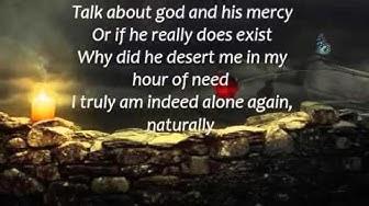 Alone Again Naturally Gilbert O`Sullivan Lyrics