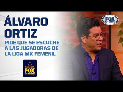 """Álvaro Ortiz: """"Hay que verlas como profesionales, no como becarias"""""""