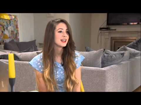 Zoella BBC South East Today 27/05/2014