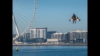 Autonomous Jetman Takes Flight | at Dubai | in First Expo 2020 Mission