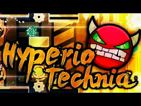[Geometry dash 2.1] - 'Hyperio Technia' by MasterL500 & more (All Coins)