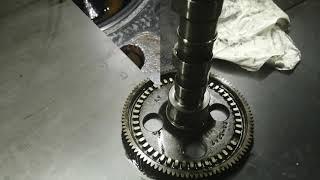 Разборка и дефектовка двигателя CATERPILLAR C9