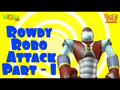 Rowdy Robo Attack - Part 1 - Vir Compilation - Live in India