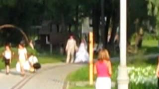 Летняя свадьба в парке Феофания, г. Киев