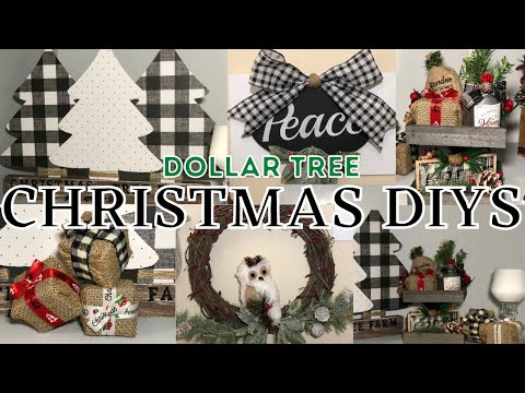 7 DIY Dollar Tree Christmas Decorations | Christmas Home Decor Ideas 2020 🎄