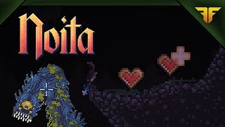 Noita, the Secret of the Dark Cave (early access)