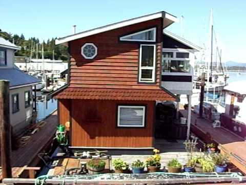 float homes dockside vancouver island cowichan bay