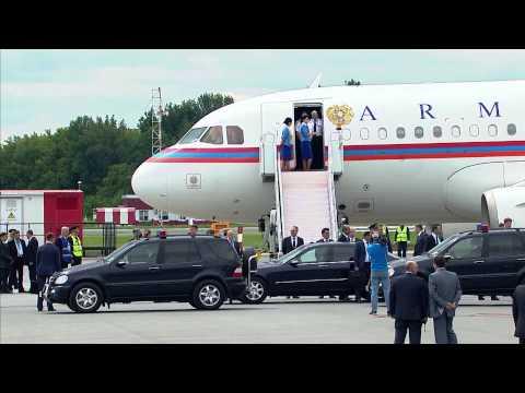 В Уфу прибыл Президент Республики Армения Серж Саргсян
