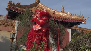 2018 Epcot Festival of the Holidays : Chinese Dancing Lion