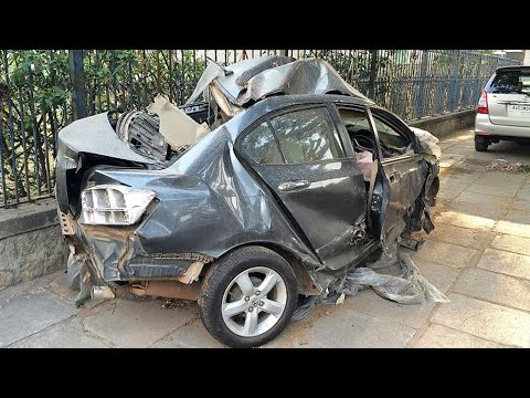Latest Car Accident of Honda City in India – Road – Crash – Compilation – Auto – 2016 – 2017 – 2018