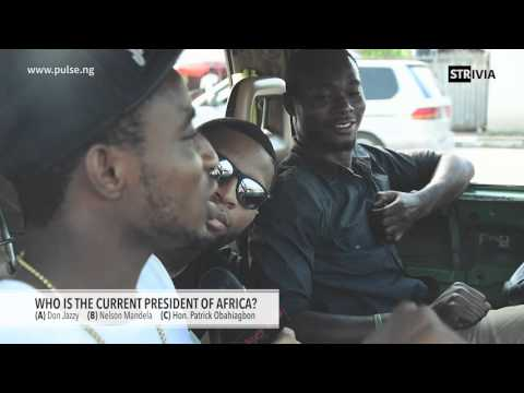 "Video: Celebrities & People in the Streets Answer Questions: Who is The President of Africa? ""Don Jazzy"""