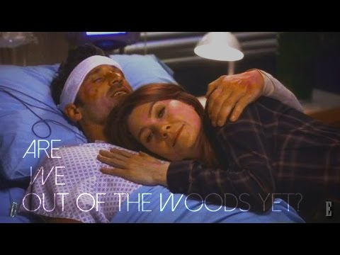 20 stitches in a hospital room || Meredith&Derek