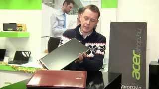 Az Acer Aspire E1-530 laptop magyar nyelvű bemutatója az AcerShopban