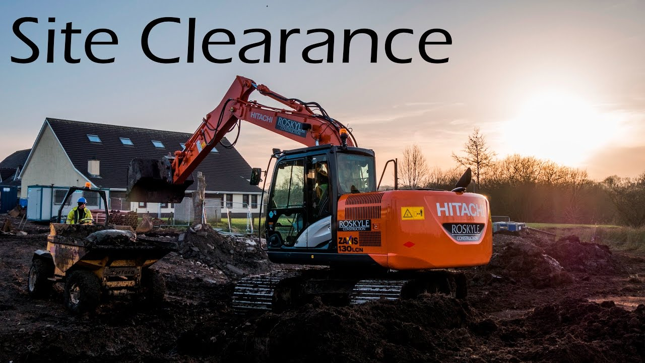 Site Clearance On Building Site