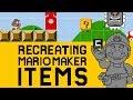 Recreating Super Mario Maker Items in Su