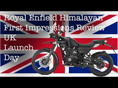 Royal Enfield Himalayan First Impressions Review Uk Launch Day Youtube