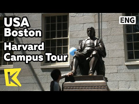 【K】USA Travel-Boston[미국 여행-보스턴]하버드 캠퍼스 투어/Harvard Campus Tour/John Harvard Statue