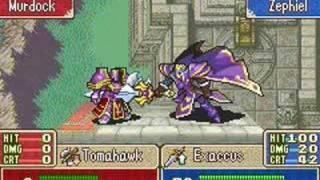 Fire Emblem 6 - Zephiel VS Murdock
