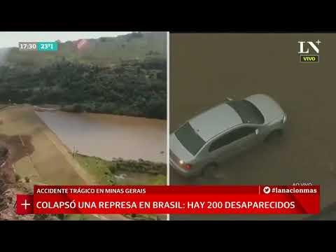 Colapsó una represa en Brasil: al menos 200 desaparecidos +INFO