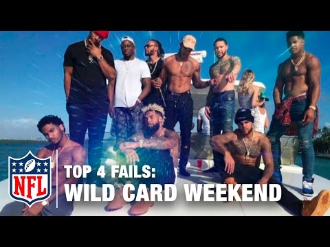 Top 4 Fails (Wild Card Weekend) | The Shek Report