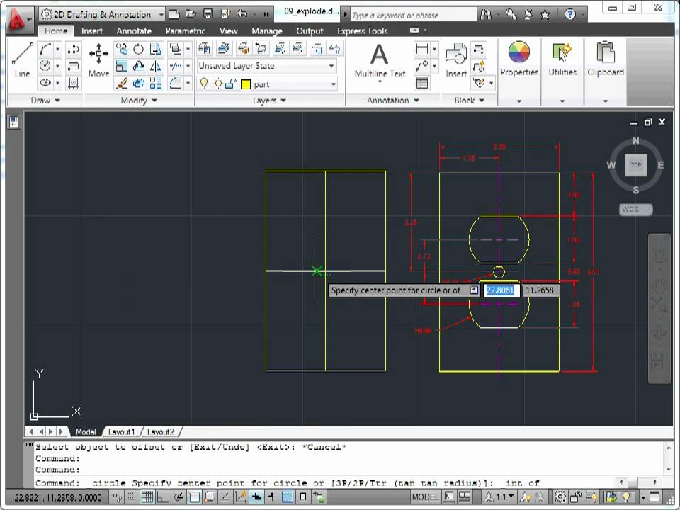 how to explode pdf in autocad