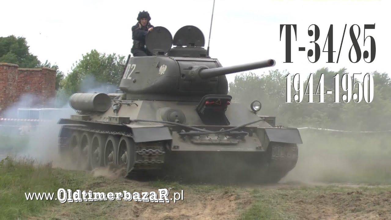 OldtimerbazaR - T-34/85 - opowiada Marek Łazarz - YouTube