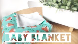 How To Make A Baby Blanket   Diy Gift Idea   Mummy Maker