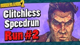 Borderlands 2 | Glitchless Speedrun Run #2 Highlights (Full Run In Description)