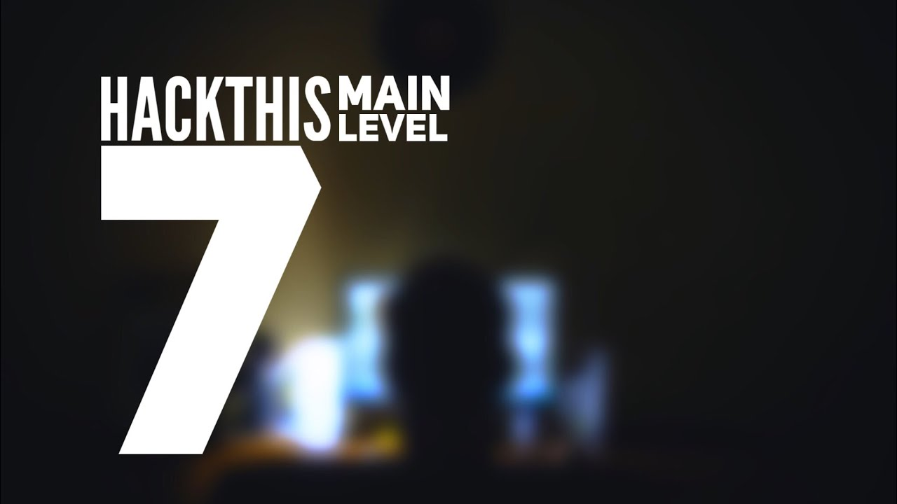 [Solution Fr] HackThis - Main Level 7