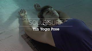 YOGA   Yin yoga pose